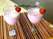 Strawberry Milkshake